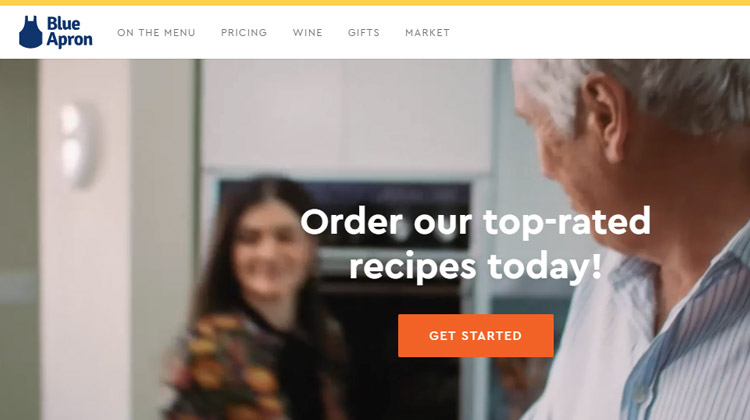 blue apron top meal delivery service