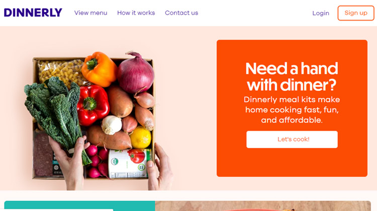 dinnerly most affordable meal kit delivery service