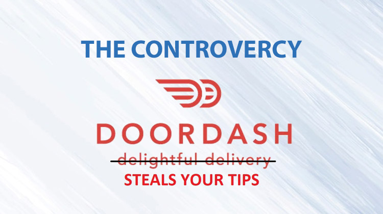 doordash steal tips