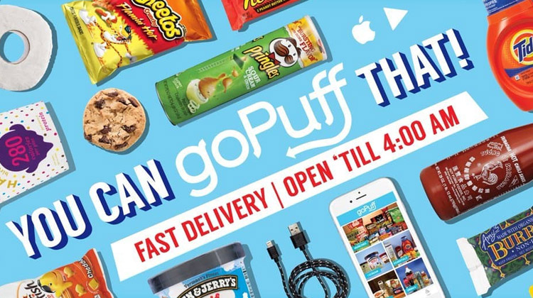 gopuff food delivery