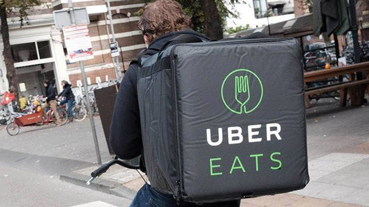 how does uber eats work