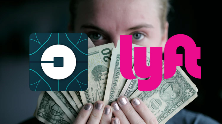 lyft vs uber driver income