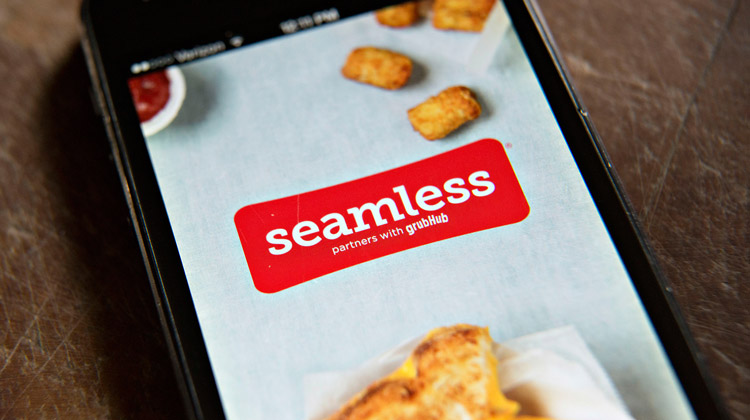 seamless food delivery